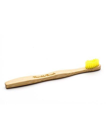 humble-brush-barntandborste-bambu-ultrasoft-gul